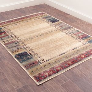 Oushak Luri Cream Traditional Rug by Prestige