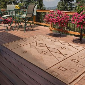 Outdoor Oasis Natural Rug by Rug Style