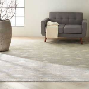Pacific CK903 Grey Ivory Rug by Calvin Klein