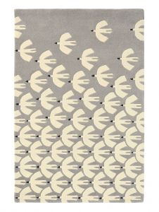 Pajaro 23904 Steel Hand Tufted Wool Rug by Scion