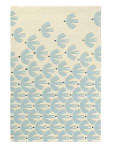 Pajaro 23909 Mint Hand Tufted Wool Rug by Scion