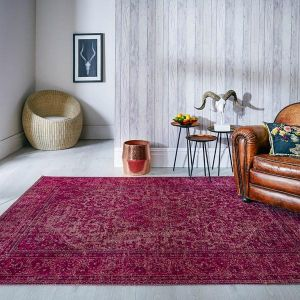 Palais Bianco Cerise Rug by Flair Rugs