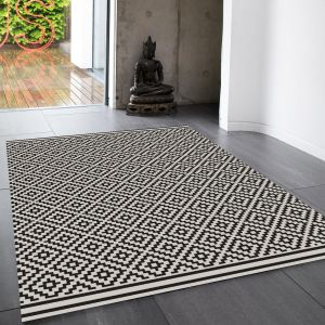 Patio PAT12 Diamond Mono Rug By Asiatic 1