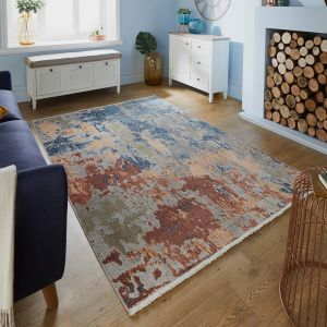 Pavillion Ivy Abstract Multi Rug by Flair Rugs