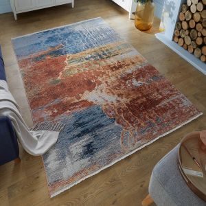 Pavillion Kew Abstract Multi Rug by Flair Rugs