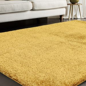 Payton Gold Plain Rug by Asiatic