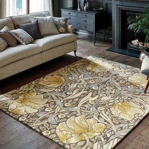Pimpernel Bullrush 028808 Hand Tufted Wool Rug by Morris & CO.