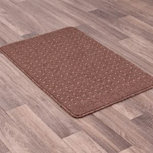 Pin Dot Mink Washable Mat by Rug Style