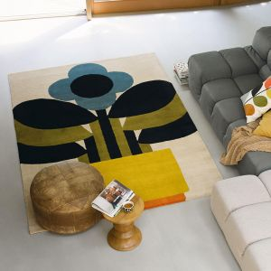 Plant Pot 059905 Multi Wool Rug by Orla Kiely