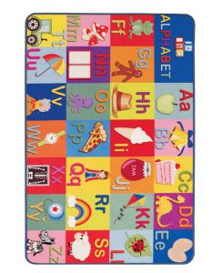 Playtime Balloon abc Mat by Oriental Weavers