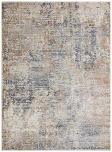 Pollo POLL102 Grey Abstract Rug by Concept Looms
