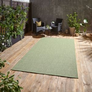 POP! Outdoors Light Green Rug by Think Rugs