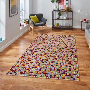 Prism PR101 Multi Wool Rug By Think Rugs