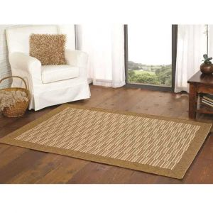 Florence Alfresco Raffles Natural Geometric Bordered Rug By Flair Rugs