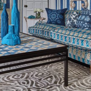 Rhoscolyn Biscuit Hand Tufted Rug by William Yeoward