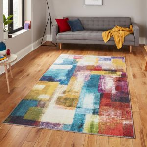 Rio G4721 Multi Rug by Think Rugs