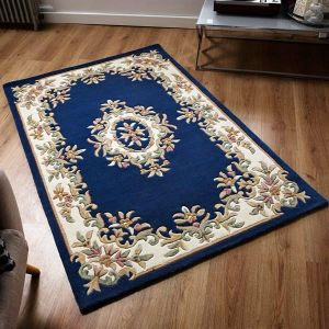 Royal Blue Traditional Rug by Oriental Weavers