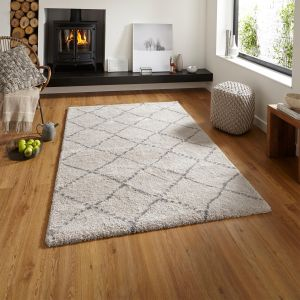 Royal Nomadic 5413 Cream/Grey Rug By Think Rugs