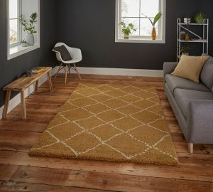 Royal Nomadic 5413 Yellow Rug by Think Rugs