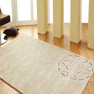Royal Geometric Design Unique Rug by Prestige