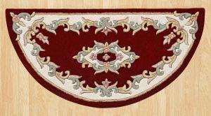 Royal Jewel JEW11 Red Half Moon Traditional Rug By Oriental Weavers