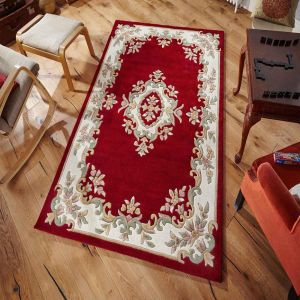 Royal Jewel JEW11 Red Traditional Rug By Oriental Weavers