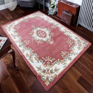 Royal Jewel JEW08 Rose Traditional Rug By Oriental Weavers