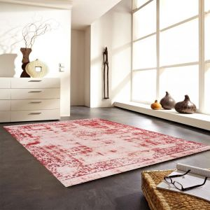 Antique Beige-Red Rug by Luxor Living