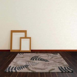 Seasons Autumn Silver Wool Rug By Ultimate Rug 1