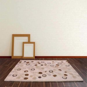 Seasons Spring Beige Wool Rug By Ultimate Rug
