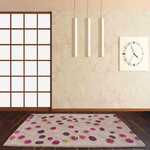 Seasons Spring Plum Wool Rug By Ultimate Rug
