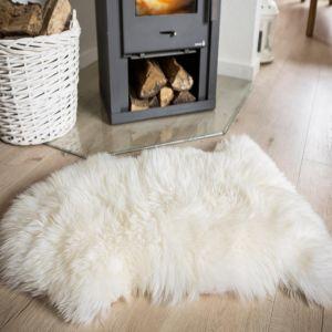 Sheepskin White Rug by Luxor Living
