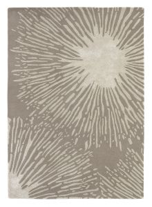 Shore 40601 Stone Handtufted wool Rug by Harlequin