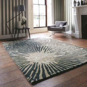 Shore 40605 Truffle Handtufted wool Rug by Harlequin
