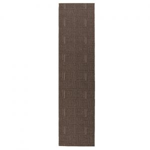 Skyline Pinnacle Charcoal Runner By Flair Rugs