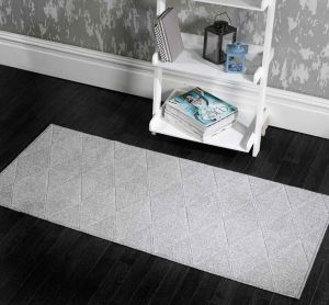 Skyline Petronas Grey Runner by Flair Rugs