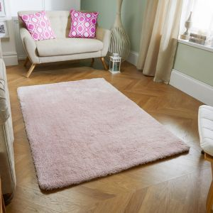 Softness Lilac Plain Rug by Oriental Weavers
