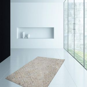 Spark 110 Ivory/Chrome Rug by Kayoom