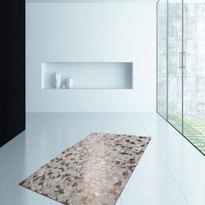 Spark 210 Ivory/Chrome Rug by Kayoom