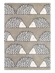 Spike 26804 Pumice Hand Tufted Wool Rug by Scion