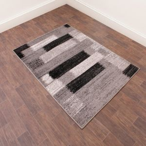 Spirit Mosaic Grey Rug by Ultimate Rug