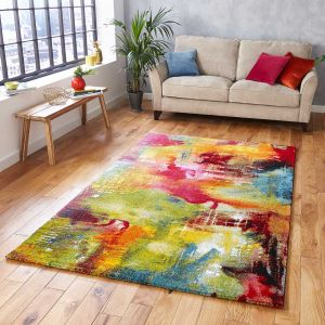 Sunrise 20754 Multi Rug by Think Rugs