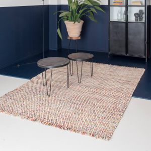 Sunshine Red Wool Rug by ITC