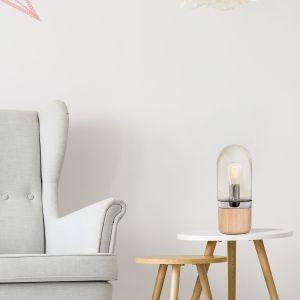 Table Lamp Malbi 500 Champagne / Wood
