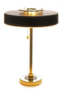 Table Lamp Phobos 110 Black / Gold