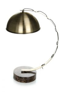 Table Lamp Plutos 110 Brass / Marble