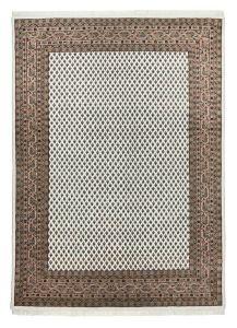 Theko Chandi Mir Cream/Brown Classic Wool Rug