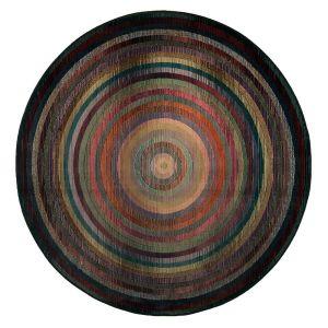 Theko Gabiro 001-800 Multi Classic Circle Rug