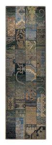 Theko Gabiro Mosaik 5504 Blue Classic Runner