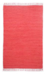 Theko Happy Cotton Red Young Fashion Rug